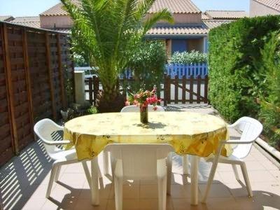 A balcony or terrace at Alizés - Cap Sud III