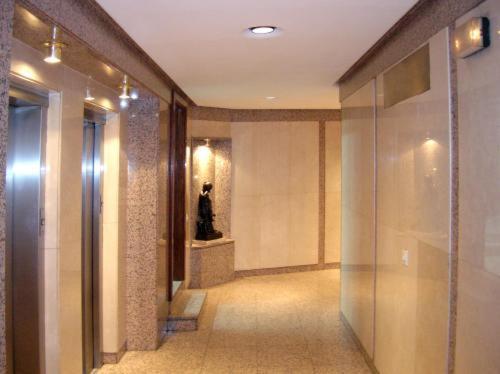 A bathroom at Apartamentos Olano C.B.