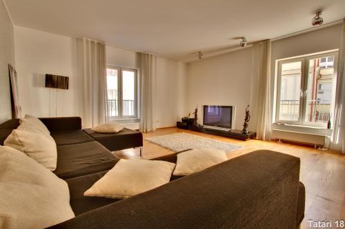 Istumisnurk majutusasutuses Daily Apartments - Freedom Square