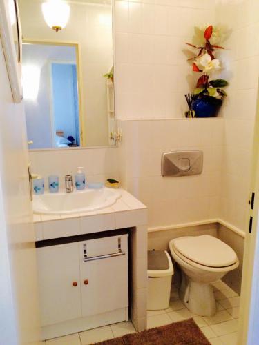 A bathroom at Appartment Plein Soleil