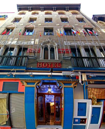Фасад или вход в Hotel Paris Centro