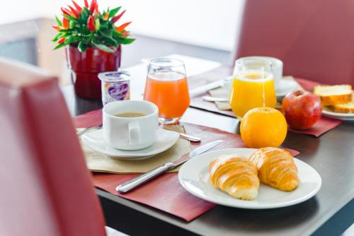 Options de petit-déjeuner proposées aux clients de l'établissement Lagrange Apart'Hotel Strasbourg Wilson