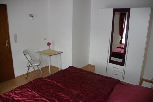 Ein Zimmer in der Unterkunft Ferienwohnung Neuber