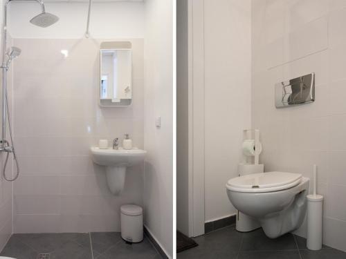Antim Boutique Apartments tesisinde bir banyo