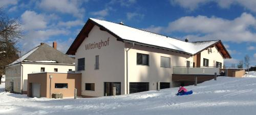 Wittinghof during the winter