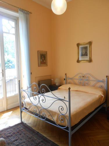 Letto o letti in una camera di Villa Grilli di Cantarana
