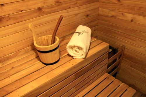 El spa o centro de bienestar en Los Robles Apart & Spa