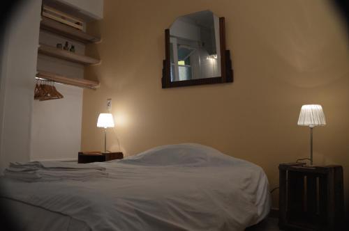 Postelja oz. postelje v sobi nastanitve Bruges Blankenberge Coast Condo