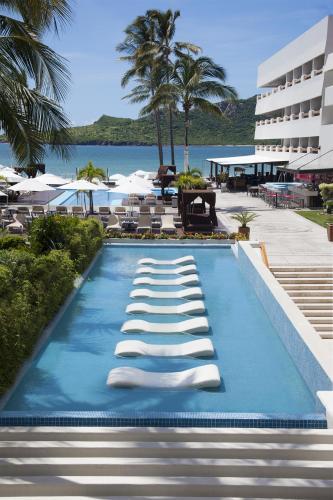 The swimming pool at or near Emporio Mazatlan