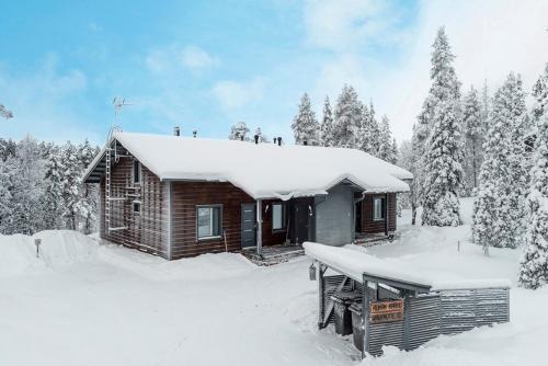 Rukankarhu Apartment II during the winter