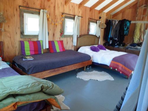 Una cama o camas en una habitación de Un Viston Modern Mountain Home
