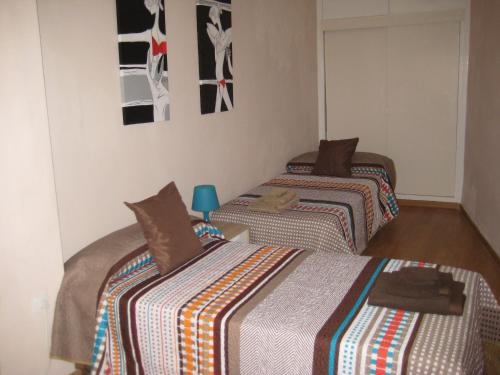 Cama o camas de una habitación en La Casa de Lara