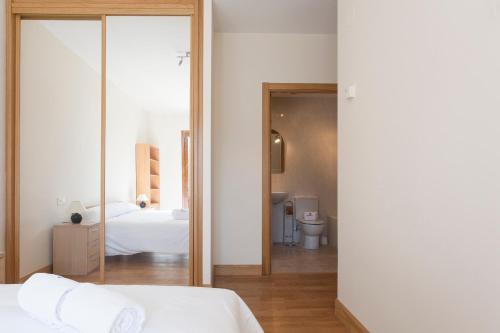 Letto o letti in una camera di Harresi - Basque Stay