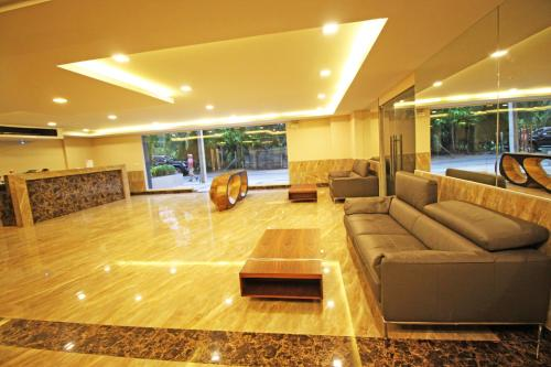 The lobby or reception area at Laguna Bay 2 by Pattaya Sunny Rentals