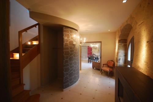 The lobby or reception area at Luxury Farmhouse Brittany
