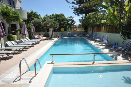 The swimming pool at or near Anseli Hotel
