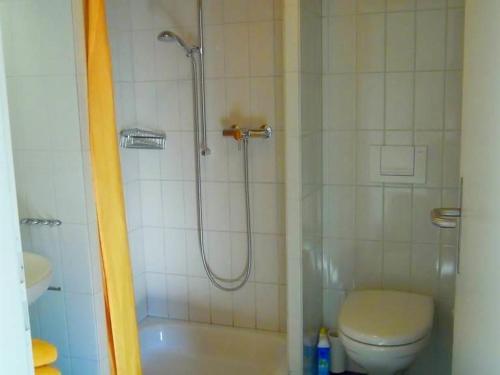Ein Badezimmer in der Unterkunft Apartment Houbé