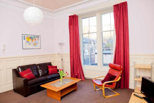 A seating area at Palace Residential Lets