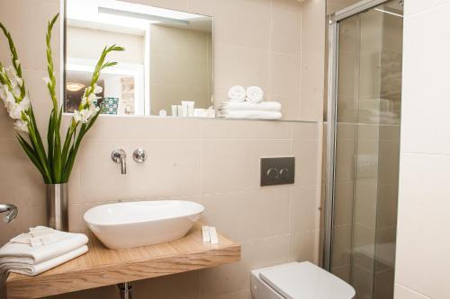 A bathroom at Castrum Design Apartments