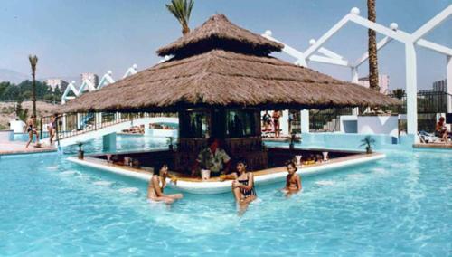 The swimming pool at or near Benal Beach