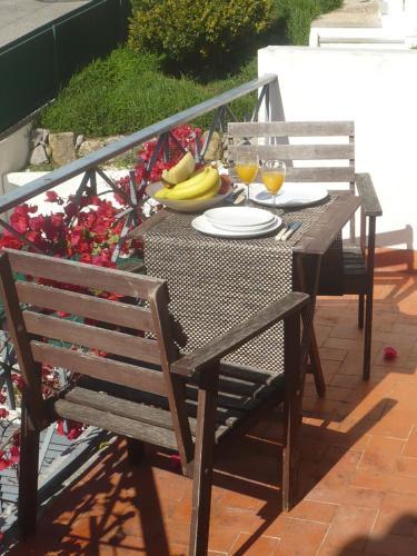 A balcony or terrace at Morada Do Sol
