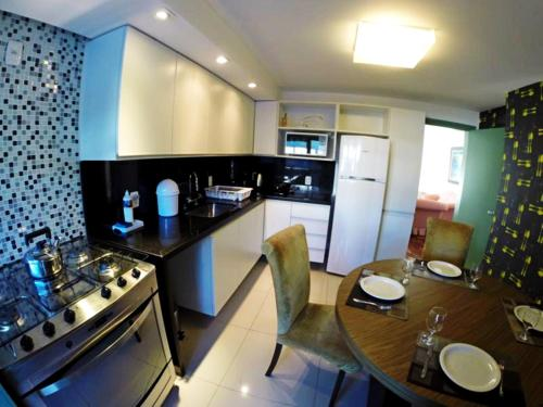 A cozinha ou cozinha compacta de Residencial Borges