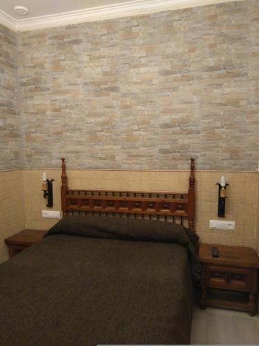 Postelja oz. postelje v sobi nastanitve Trujillo