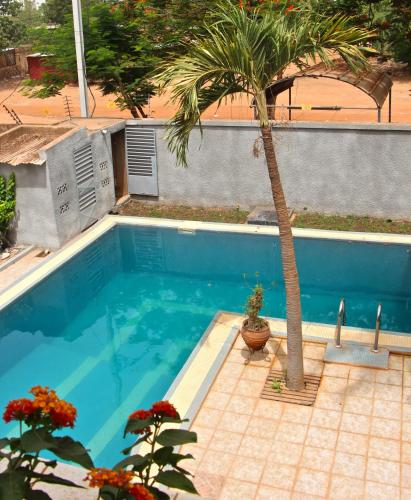 The swimming pool at or near B & B Le Nomade