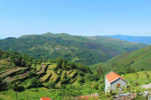 A bird's-eye view of Casa do Ramiscal - Eido do Pomar