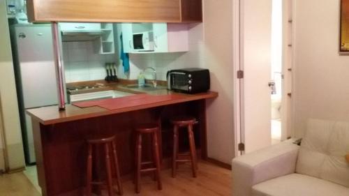 Una cocina o zona de cocina en Bellavista Apart Maria