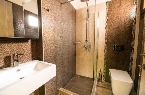 A bathroom at Aeri