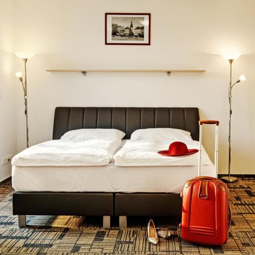 A room at eFi Hotel