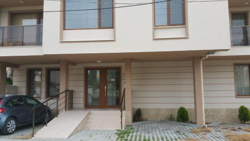 A porch or other outdoor area at Tvarditsa Apartment