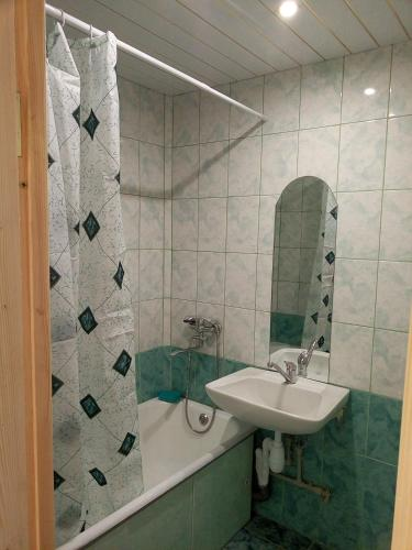 Ванная комната в Комната в квартире на Павлова