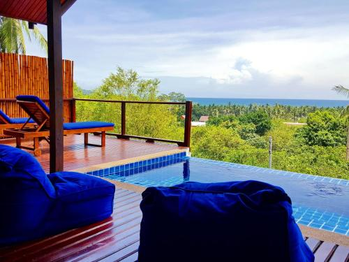 A balcony or terrace at The Place Luxury Boutique Villas