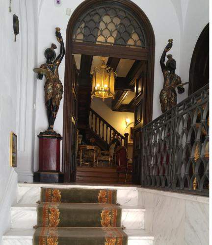 Zona de lounge sau bar la Scala Boutique-Hotel