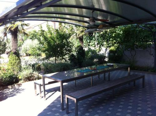 A porch or other outdoor area at Apartments Marijana