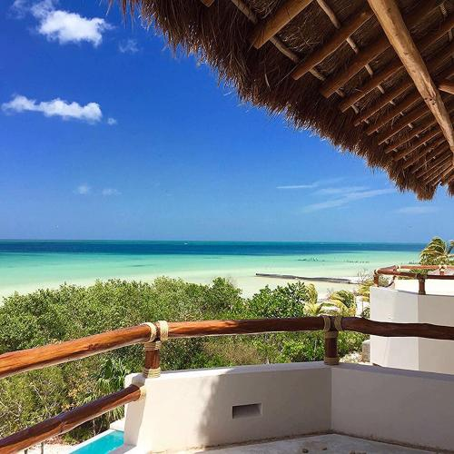 Holbox Casa Punta Coco - Adults Only 발코니 또는 테라스