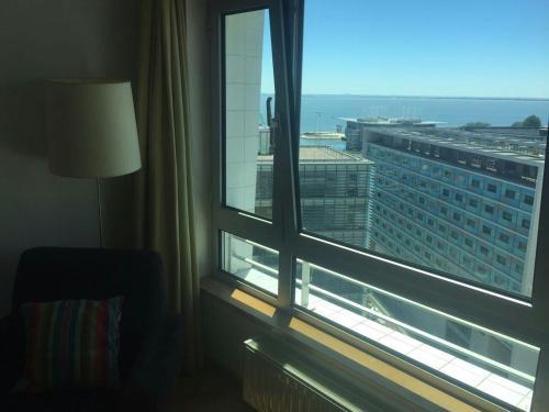 Un balcón o terraza de Baltic Apartments