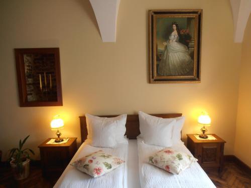 Una habitación en Gothic House