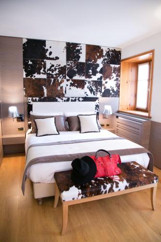 A room at Ambra Cortina Luxury&Fashion Hotel