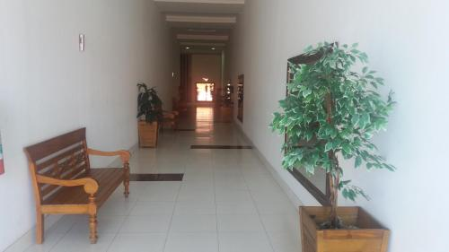 The lobby or reception area at Apto. Praia do Forte Cabo Frio
