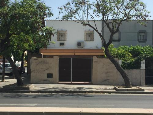 The facade or entrance of Casa Las Delicias