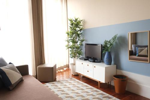 A seating area at Sao Domingos by Oporto Tourist Apartments