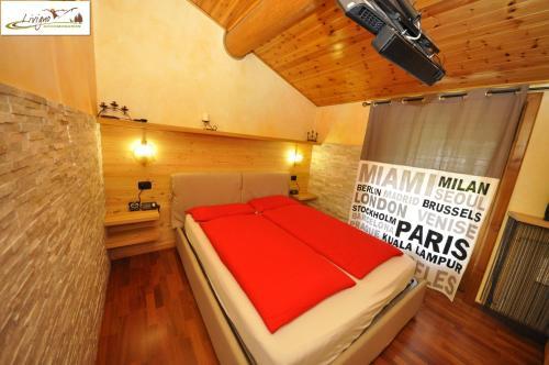 Pokoj v ubytování Baita Carosello