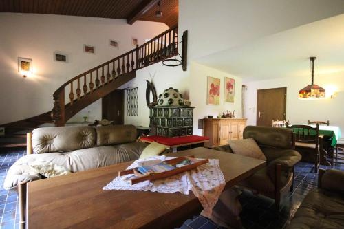 Lounge nebo bar v ubytování Ferienhaus Maggy by Schladming-Appartements
