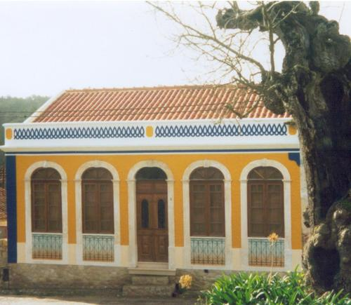 The building where the villa is located