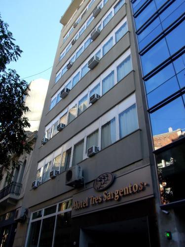 The facade or entrance of Hotel Tres Sargentos