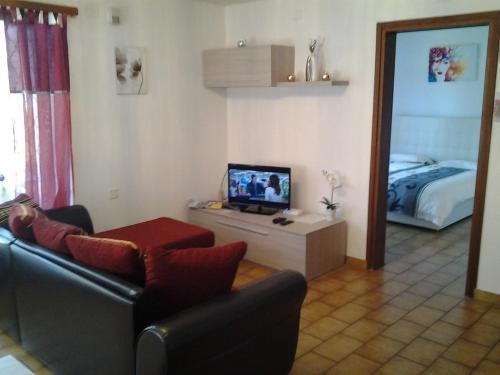 TV/Unterhaltungsangebot in der Unterkunft Holiday Home Casa Stefi