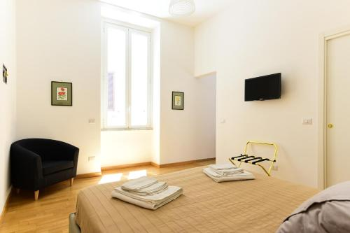 A television and/or entertainment center at CS Cosy Termini Studio
